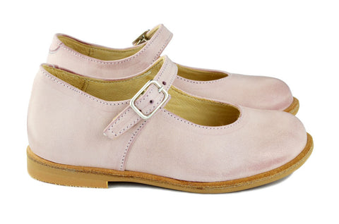Manuela de Juan Girls Light Pink Mary Jane