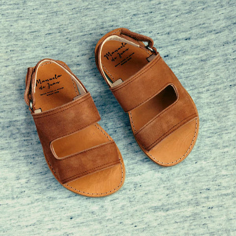 Manuela de Juan Boys Brown Sandal