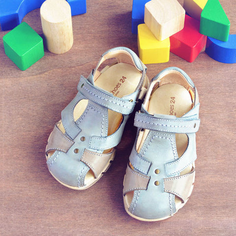 Petit Shoes Boys Grey Sandal