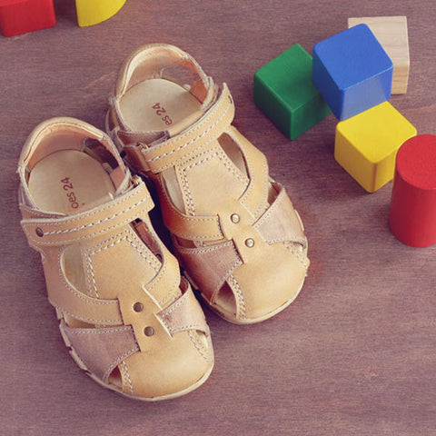 Petit Shoes Boys Beige Sandal