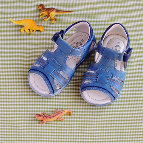 Crios Boys Blue Open Toe Sandal