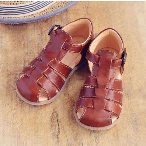 Ocra Boys Brown Sandal