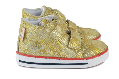 Naturino Falcotto Girls Gold Hightop