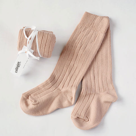 Collégien Light Pink Socks