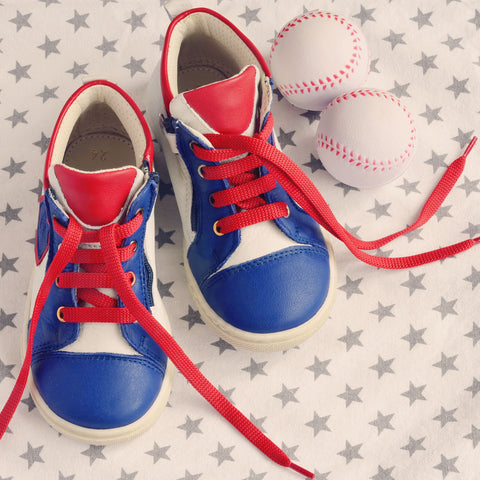 Zecchino d'Oro Boys Blue, White & Red Hightop
