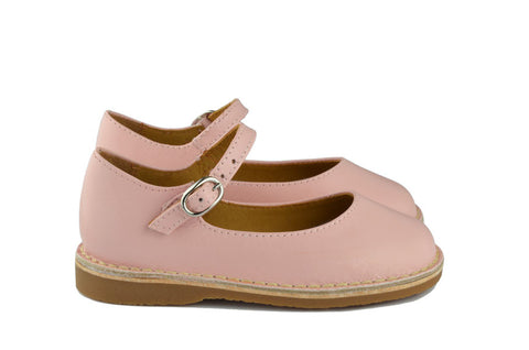 Eli1957 Girls Soft Pink Mary Jane