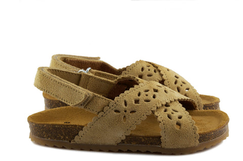 Two Con Me by PèPè Girls Sand Suede Sandals