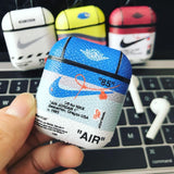 Leather Nike x OFF-WHITE Cases For AirPods 1/2