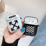 OFF-WHITE Logo Cases For AirPods 1/2