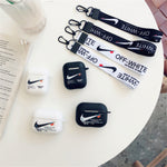 Nike x OFF-WHITE '85' Case For AirPods 1/2 And Pro