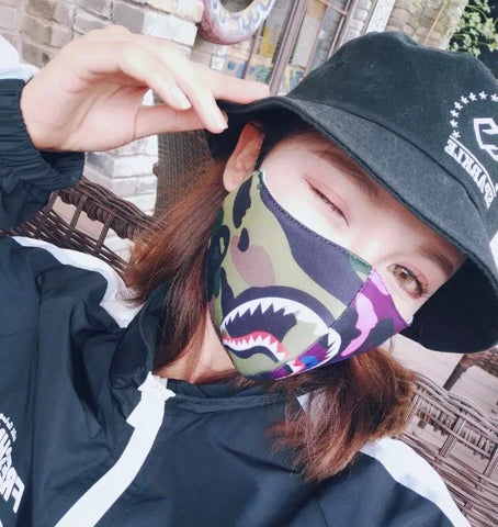 Bape Multi-Coloured Face Masks