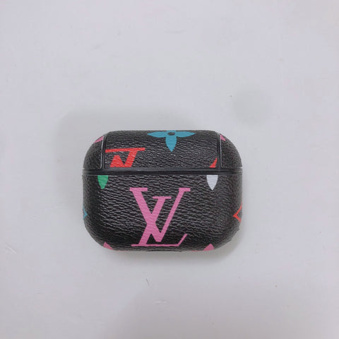 Black Rainbow Louis Vuitton Case For AirPods Pro