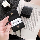 Leather OFF-WHITE Cases For AirPods 1/2 And Pro