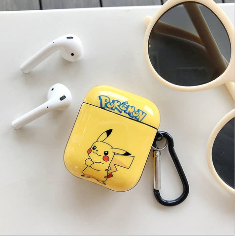 Pokemon Pikachu Case For AirPods 1/2