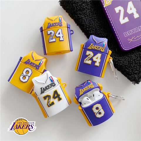 Kobe Bryant Signed No.8 And No.24 Jersey Cases For AirPods 1/2