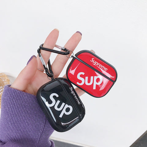 Leather Supreme cases For AirPods Pro