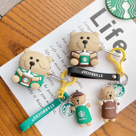Starbucks Bear Cases For AirPods 1/2