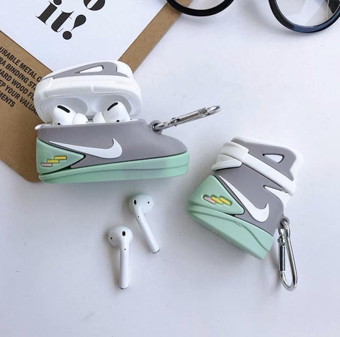 Nike Back To The Future Glow In the Dark Sneaker Case For AirPods 1/2 And Pro