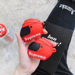 Supreme Helmet Case For AirPods 1/2