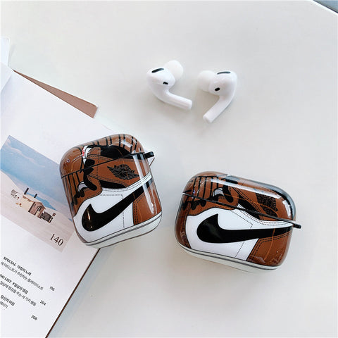 Brown Nike Air Jordan Cases For AirPods 1/2 And Pro