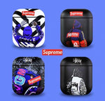 Supreme x Off-White x Stussy x Bape Cases For AirPods 1/2