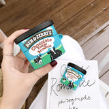 Ben And Jerry's Cases For AirPods 1/2 And Pro