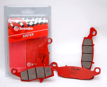 Brembo Sinter Road Brake Pads 07KA18SA & 07KA19SA - Opened