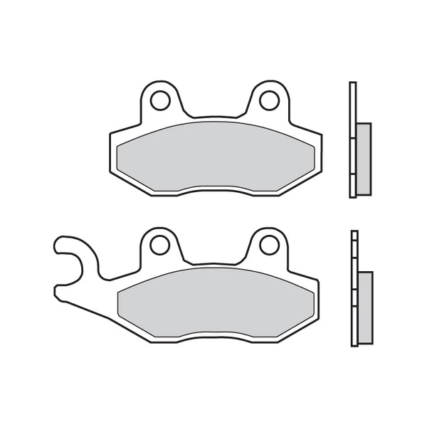 Brembo Sinter Road Brake Pads 07SU12SP - Rear