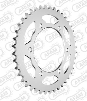 AFAM Steel Sprocket 12815-42 - Silver (525)
