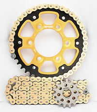 Supersprox Chain & Sprocket Kit for Kawasaki ZX9R 02-04 - Standard Gearing