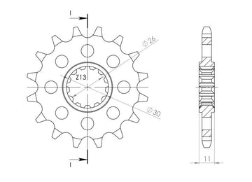 Supersprox Steel Front Sprocket CST1591 - Choose Your Gearing