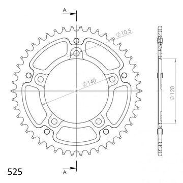 Supersprox Stealth Rear Sprocket RST1792.45