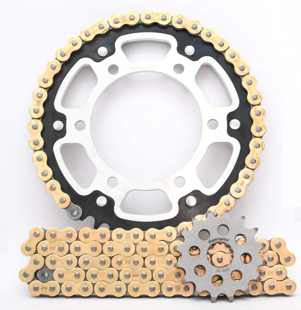 Supersprox Chain & Sprocket Kit for Suzuki GSX R 750 04-05 - Standard Gearing