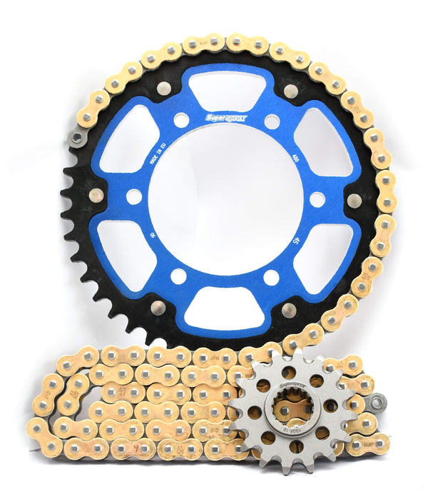 Supersprox/DID Chain & Sprocket Kit - Yamaha R6 06> Choose Your Gearing
