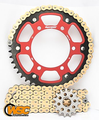 Supersprox Chain & Sprocket Kit for Yamaha YZF R6 2003-2005 - Standard Gearing 530 Conversion