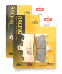 SBS 686RS Racing Sinter Brake Pads (Full Front Set)