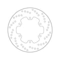 Brembo Serie Oro Fixed Brake Disc - Rear (68.B407.91)