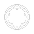 Brembo Serie Oro Fixed Brake Disc - Front PAIR (68.B407.D6)