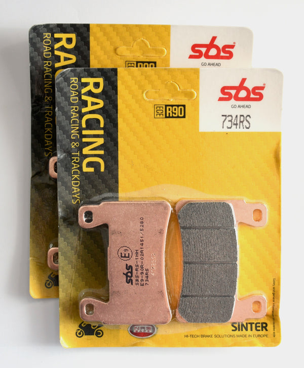 SBS 734RS Racing Sinter Brake Pads - 2 Sets