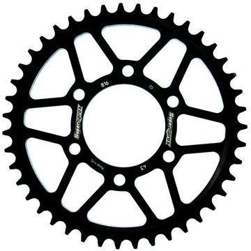 Supersprox Steel Rear Sprocket RFE816.42BLK - Black
