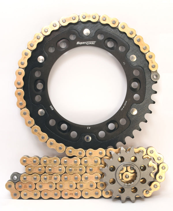 Supersprox Chain & Sprocket Kit for KTM Adventure - Standard Gearing