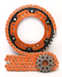 Supersprox Chain & Sprocket Kit for KTM 950 Super Enduro R 06-10 - Standard Gearing
