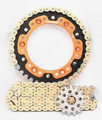 Supersprox Chain & Sprocket Kit for KTM 690 SMC (Inc R) - Standard Gearing