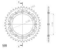 Supersprox Stealth Rear Sprocket RST990.41