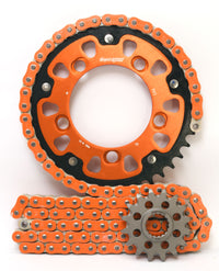 Supersprox Chain & Sprocket Kit for KTM 990 Superduke 05-13 - Standard Gearing