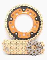 Supersprox Chain & Sprocket Kit for KTM 1190 RC8 2008-2011 Standard Gearing