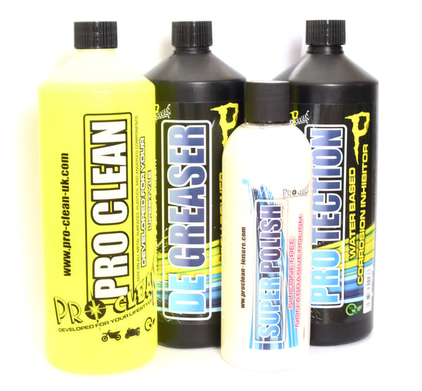 Pro-Clean Bike Cleaning Set