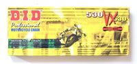 DID 530 VX Pro Street Heavy Duty Chain 120 Links - Gold