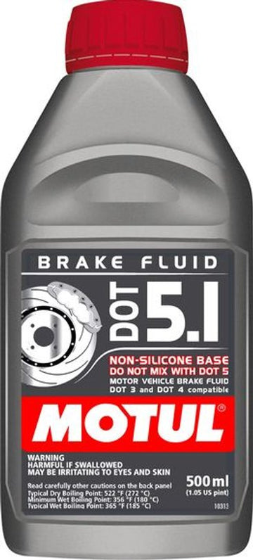 Motul DOT 5.1 Brake Fluid 500ml