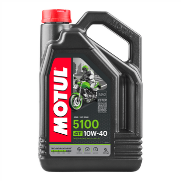 Motul 5100 4T Semi Synthetic Ester Oil 10w40 5L